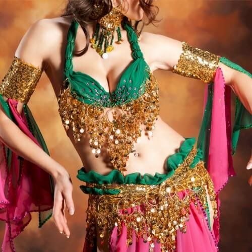 Birthday Belly Dancing Activities
