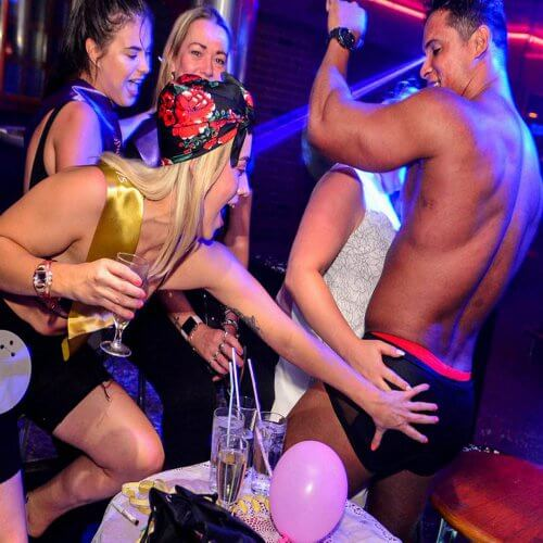 Benidorm Hen Activities Magic Boys Show