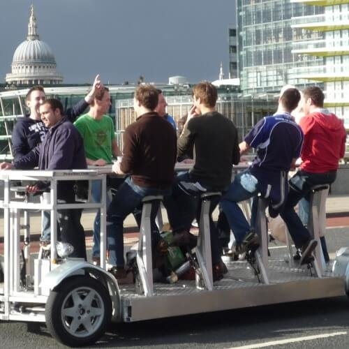 Stag Party Bike Activities