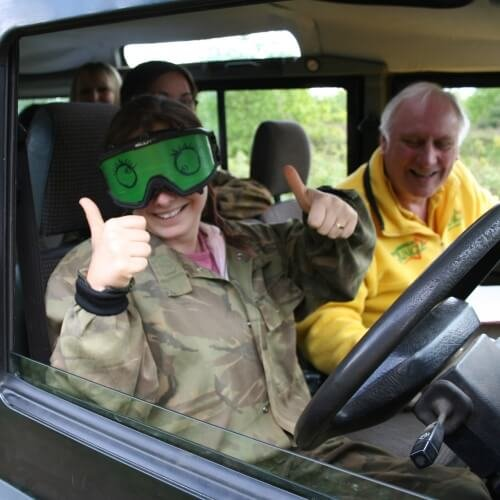 Hen Blindfold Driving Activities