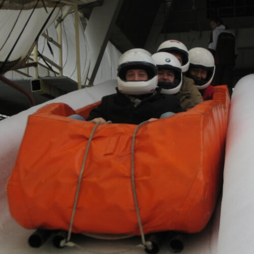 Party Bob-Sleigh Activities