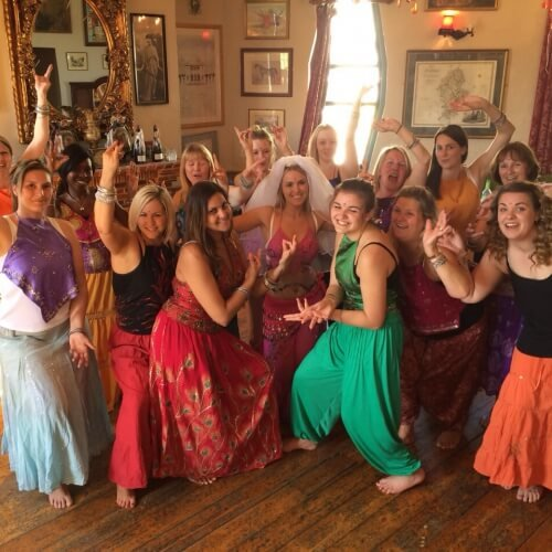 Hen Bollywood Dancing Activities