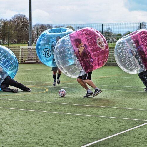 Stag Bubble Football Activities