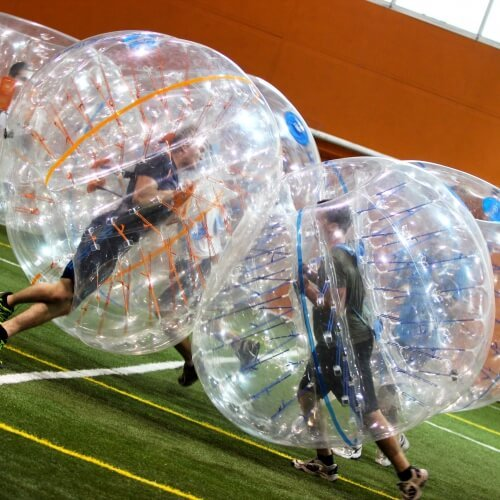 Birthday Bubble Football Activities