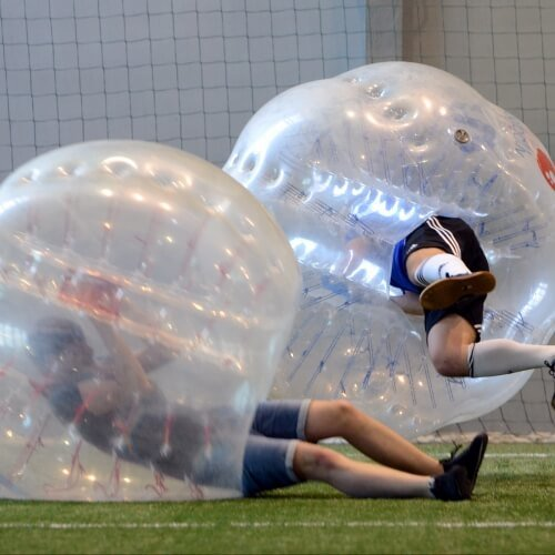 Party Bubble Football Activities