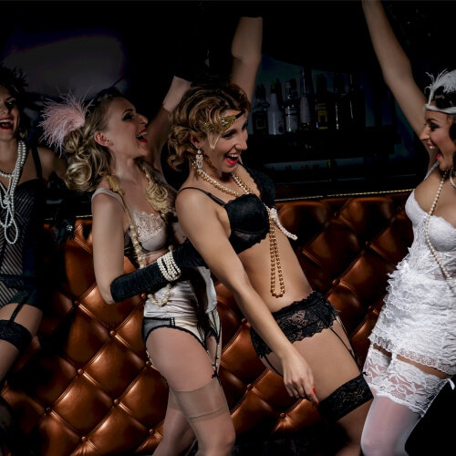 Burlesque Dance Bath Birthday
