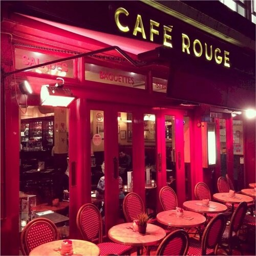 Birthday Cafe Rouge Activities