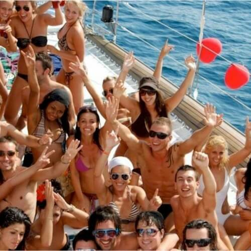 Birthday Catamaran Cruise Activities