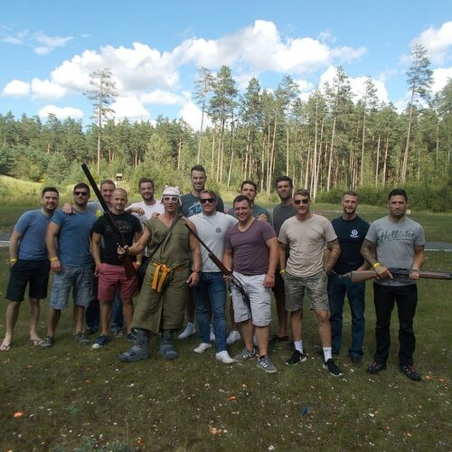 Clay Pigeon Shooting Berlin Party