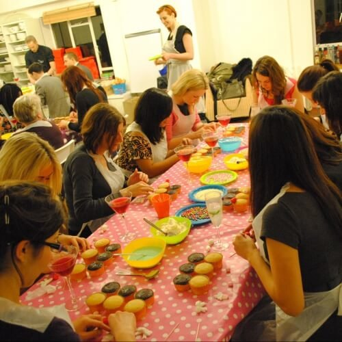 Cupcake Decorating London Hen