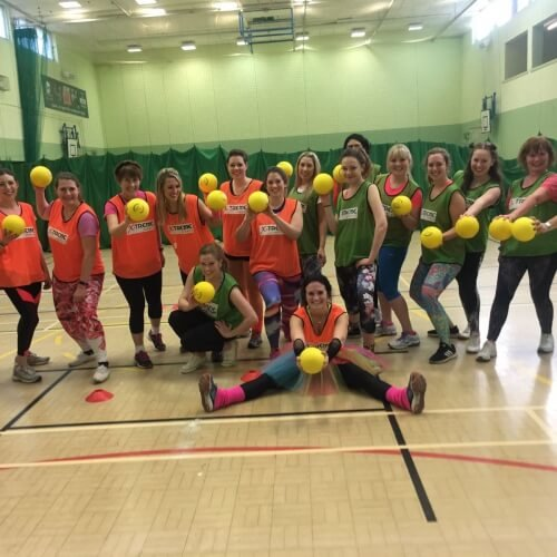 Hen Dodgeball Activities