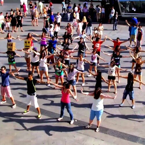 Birthday Flash Mob Dance Activities