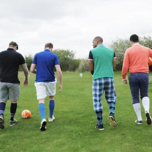 Foot Golf Berlin Birthday