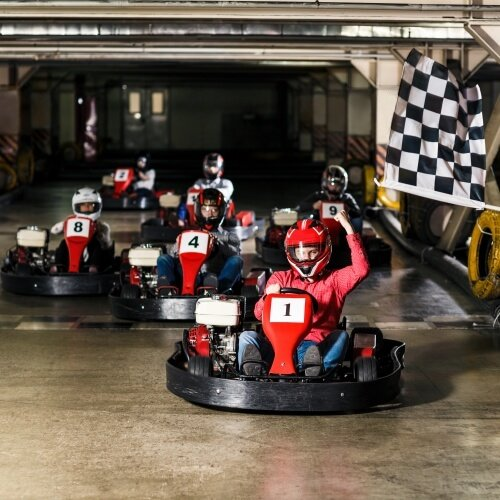 Stag Go Karting Indoor Activities