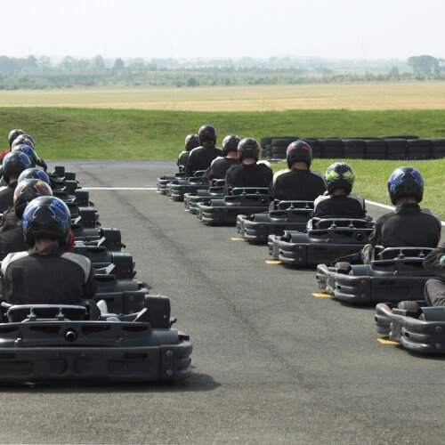 Go Karting Outdoor Riga Stag