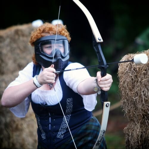 Hen Combat Archery Activities