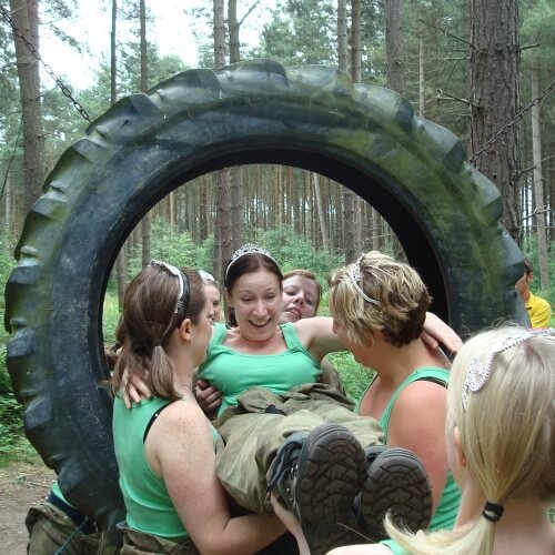 Hen Activities Assault Course