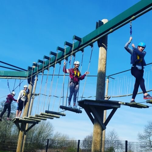 High Ropes York Hen