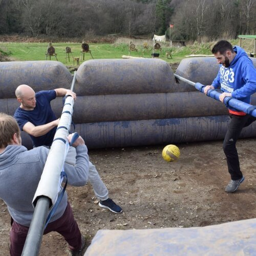 Human Table Football Newcastle Stag