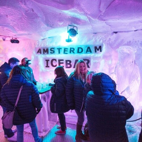 Ice Bar Amsterdam Party