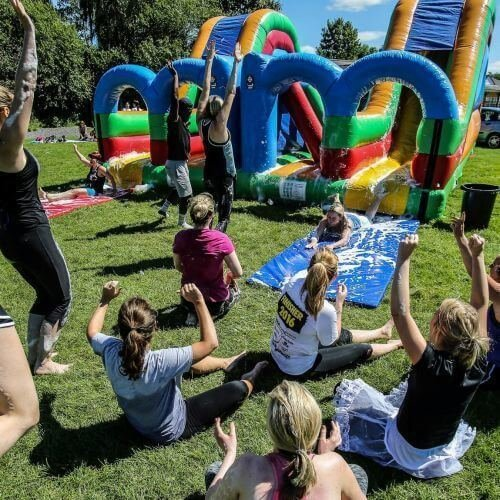 Birthday Inflatable Games Activities