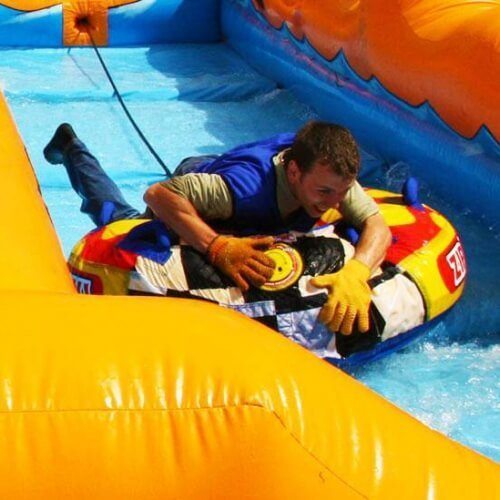 Birthday Its a Knockout Activities