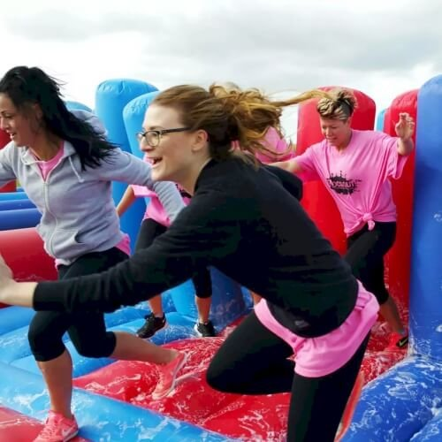 Hen Its a Knockout Activities