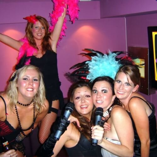 Hen Karaoke Night Activities