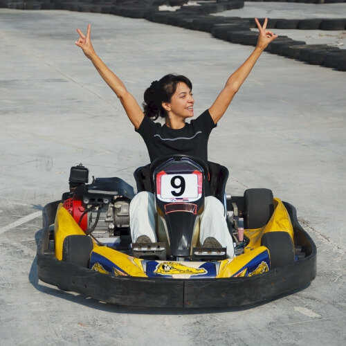 Karting Queens Barcelona Party