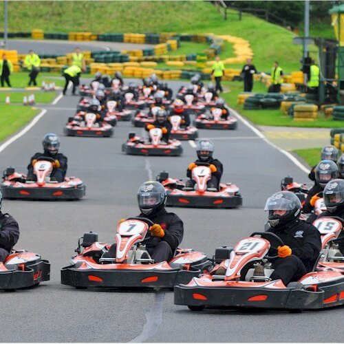 Stag Karts and Guns Activities