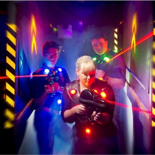 Blackpool Birthday Activities Laser Quest