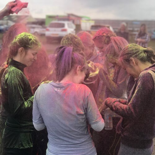 Party Mud Warrior Activities