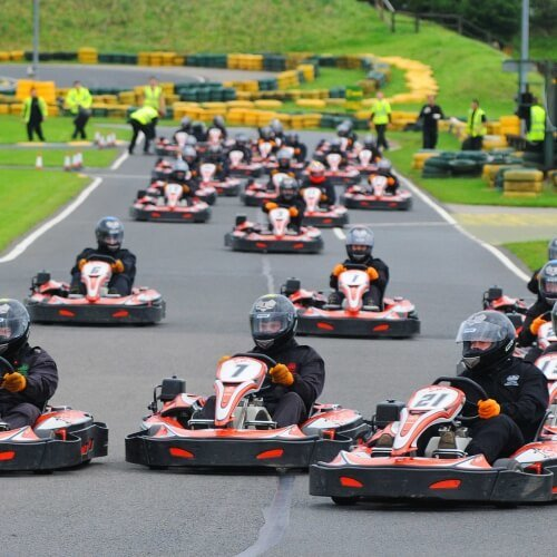Stag Go Karting Outdoor Activities