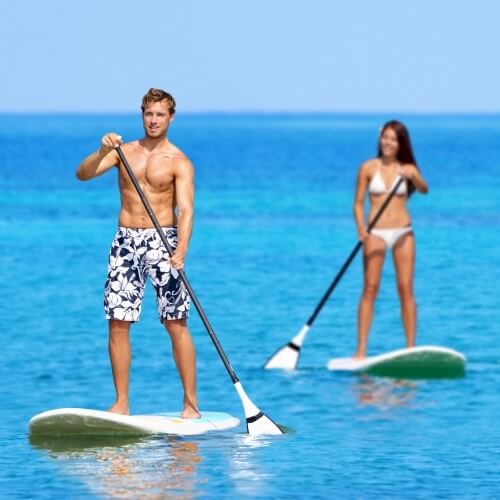 Barcelona Party Activities Paddleboarding