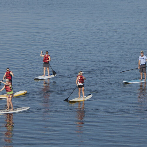 Paddleboarding Prague Stag