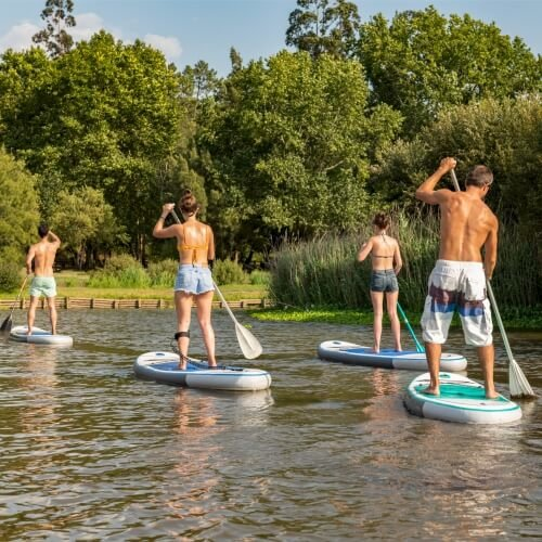 Paddleboarding Amsterdam Party