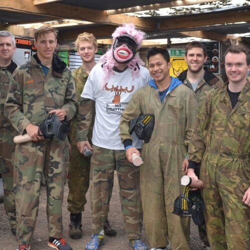 Stag Paintball Activities