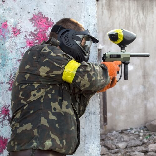 Party Paintball Indoor Activities