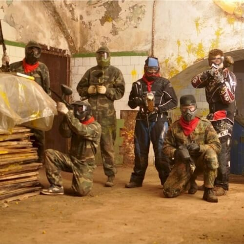 Stag Paintball Indoor Activities