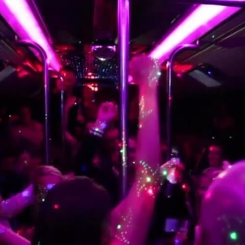 Party Bus Benidorm Birthday