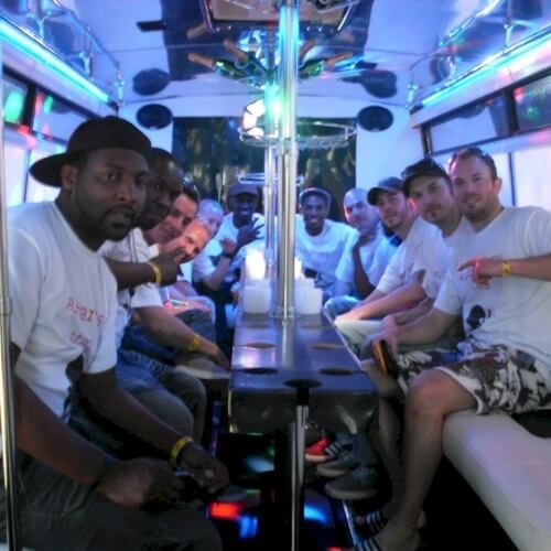 Party Bus Riga Stag