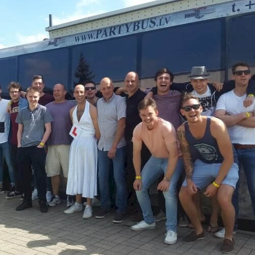 Stag Party Bus Activities