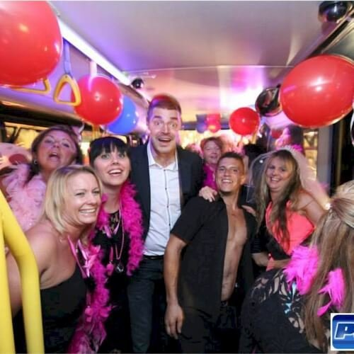 Stag Activities Party Bus