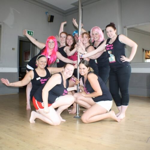 Pole Dancing Liverpool Birthday