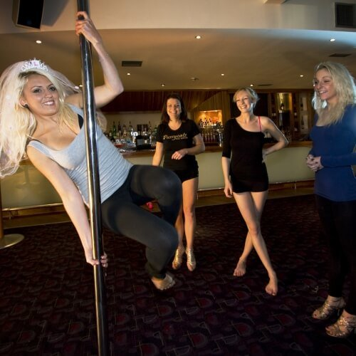 Hen Pole Dancing Activities