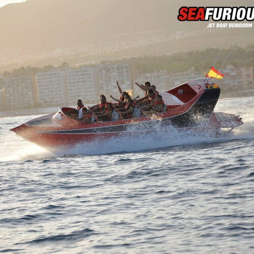 Powerboat Thriller Benidorm Hen