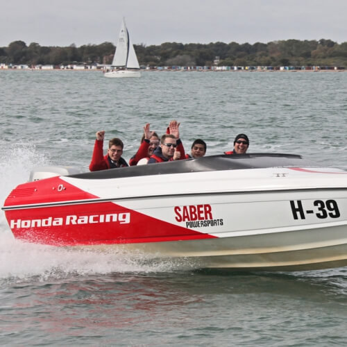Powerboat Thriller Bournemouth Stag