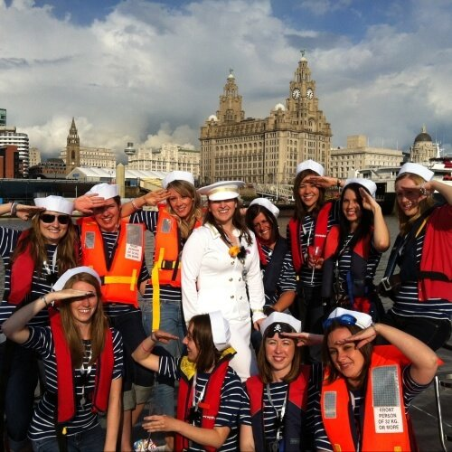 Private Yacht Liverpool Stag