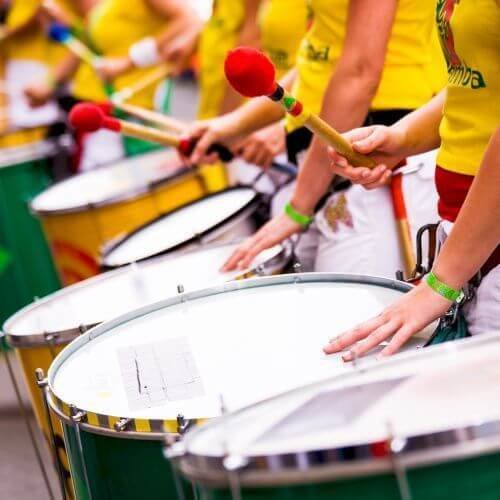 Party Samba Drumming Activities