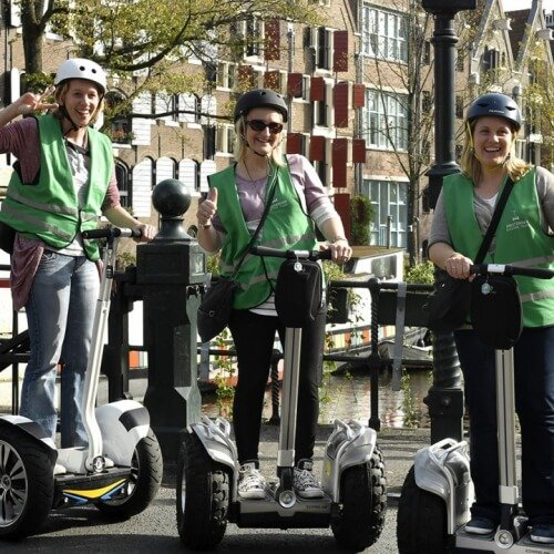 Segway Amsterdam Party